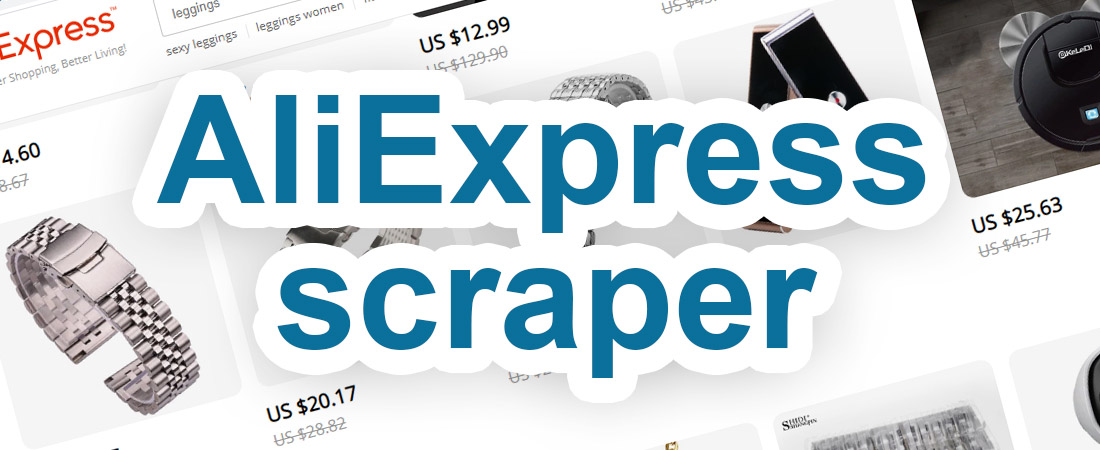AliExpress scraper