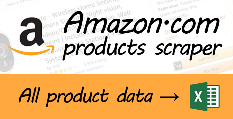 Amazon product scraper