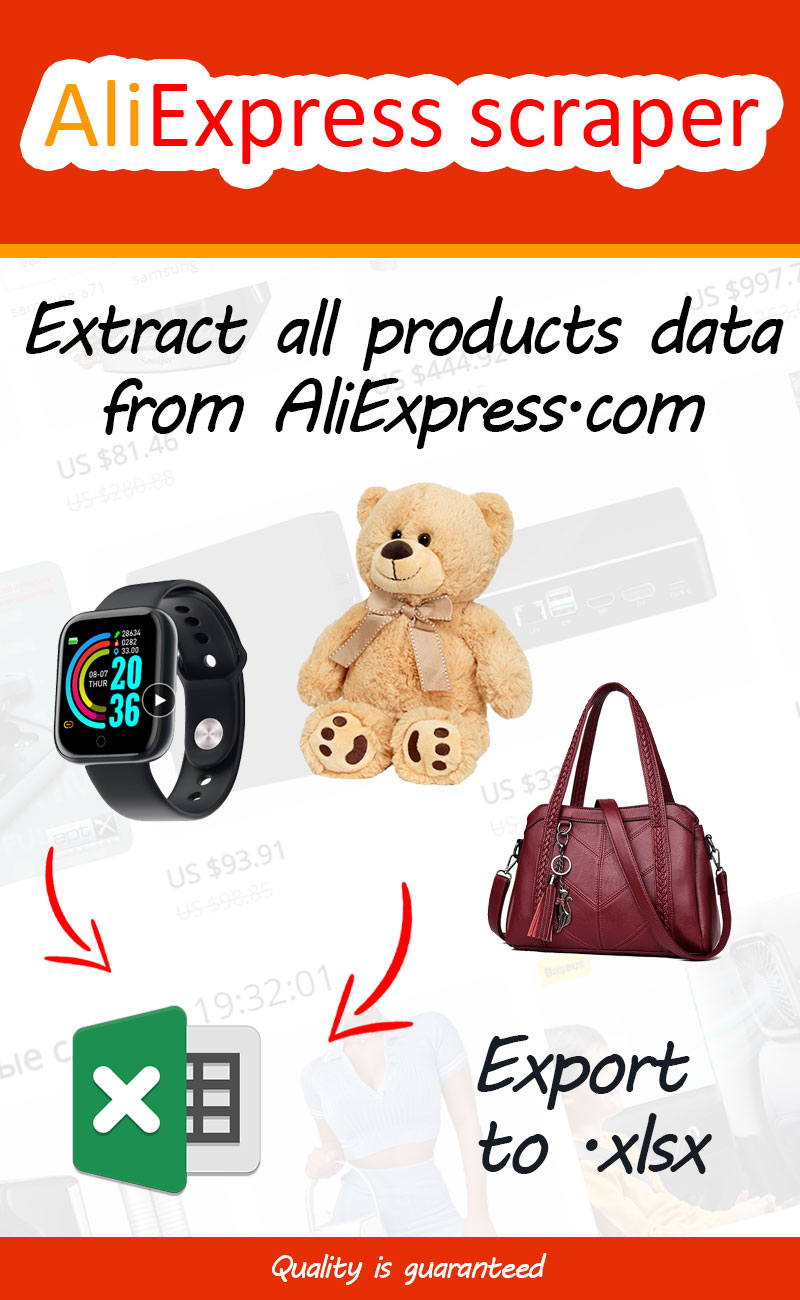 Aliexpress.com scraper - scrape data from AliExpress product pages