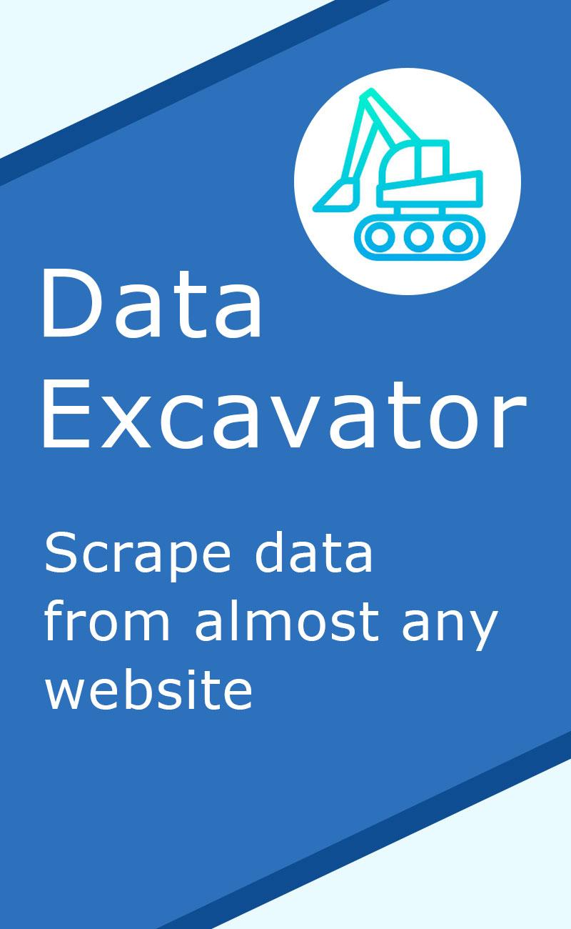 Data scraper for any website
