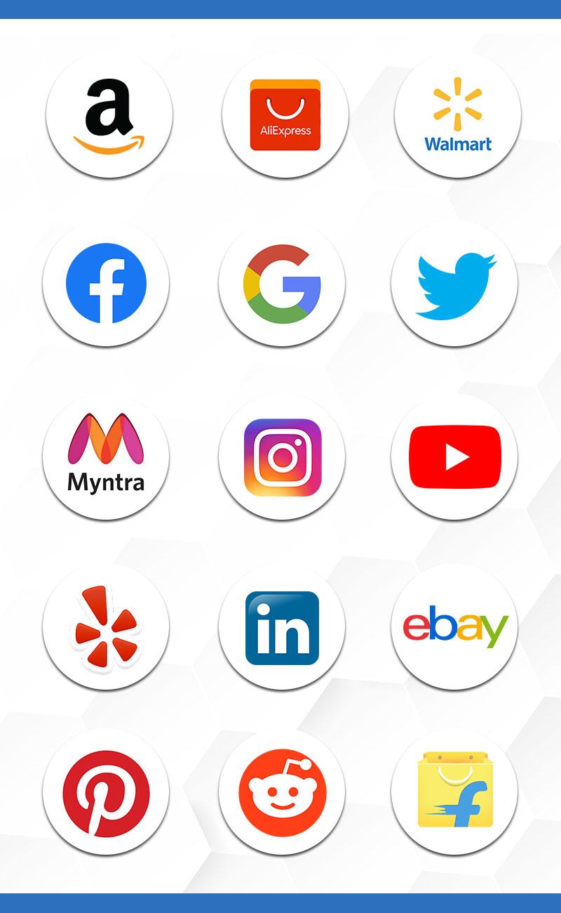 Amazon scraper, facebook scraper, aliexpress scraper