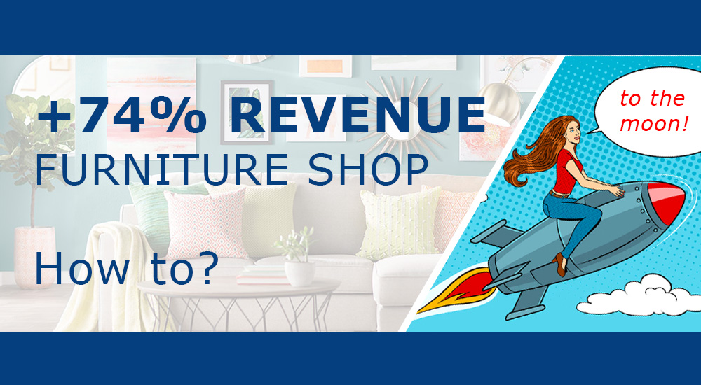 Case: How to increase online store revenue by 74% in 6 months with data scraping.