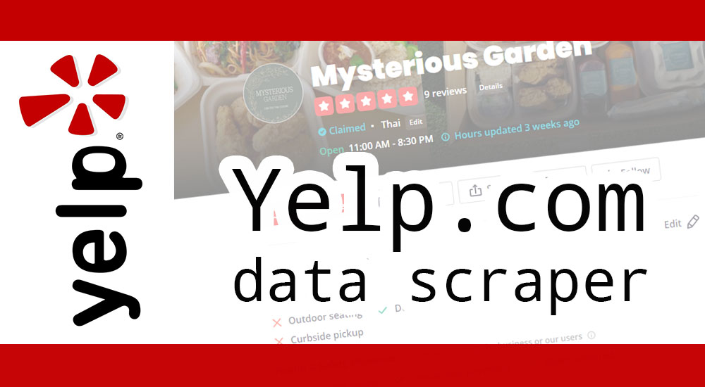 Yelp scraper – Extract business listings from Yelp.com